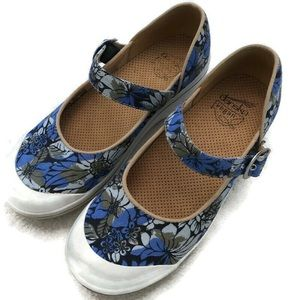 Dansko Floral Mary Jane Shoes